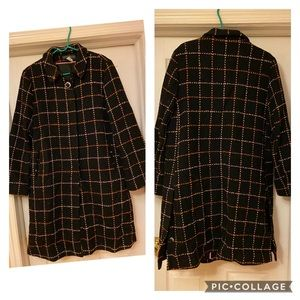 Harve Benard plaid Coat